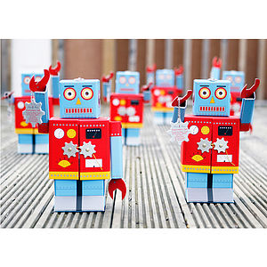 Robot Stationery Box Set - toys & games