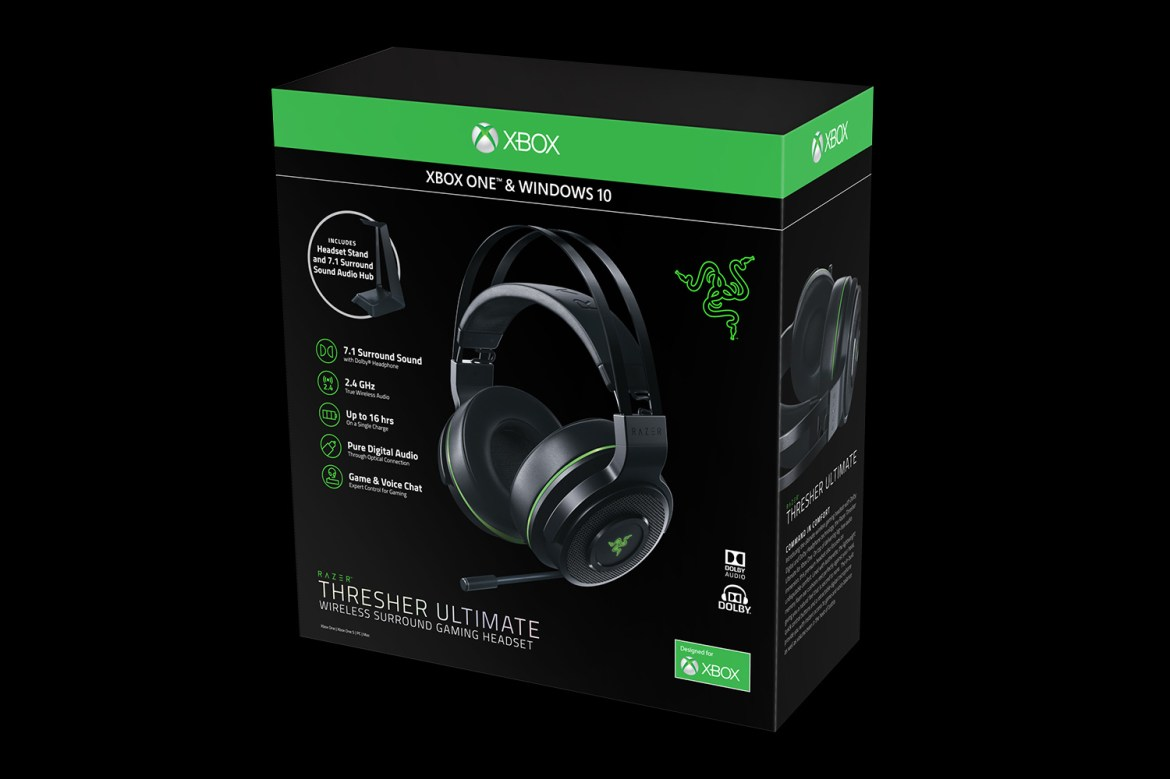 Resultado de imagen de Wireless Razer Thresher Ultimate