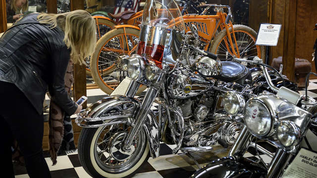 Sturgis Motorcycle Museum Hall Of