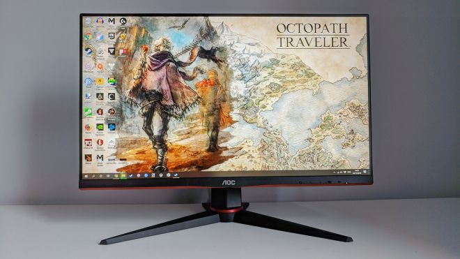 aoc-24gu2-monitor1 The best budget gaming monitors | Rock Paper Shotgun