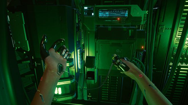 cyberpunk-2077-hacking-cable Windows 10 rolls out fix for recent game performance problems | Rock Paper Shotgun