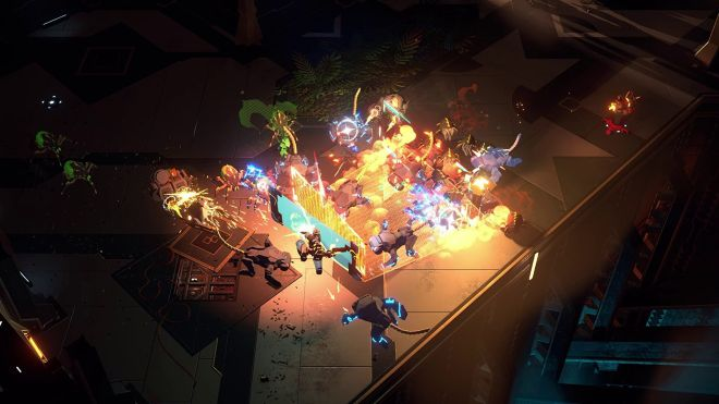 endless-dungeon-header Endless Dungeon's first gameplay trailer shows an action roguelite full of alien swarms   Rock Paper Shotgun