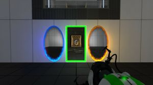 The Reloaded portal adds a portal for time travel and new puzzles