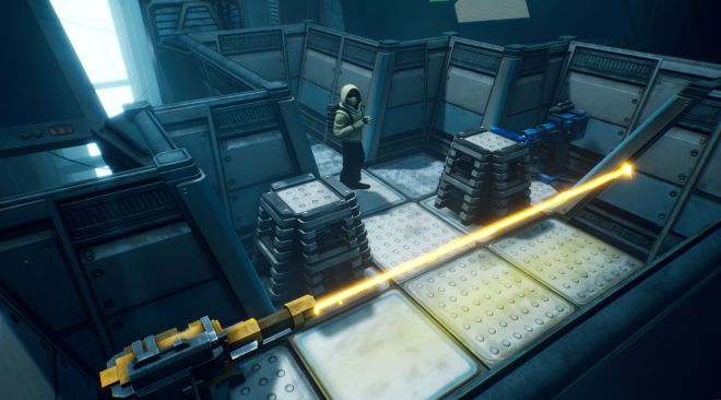 rps_charcloseup Lab Rat is a block-pushing puzzler that looks like Portal, but doesn't act like it   Rock Paper Shotgun