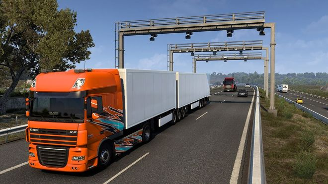 truck%20cropped Euro Truck Simulator 2's Iberian DLC is out now | Rock Paper Shotgun