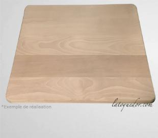 planche a decouper sur mesure en bois