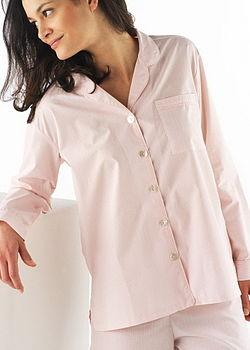 Pink gingham pyjamas