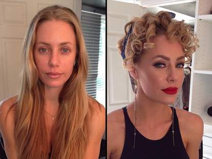 Stars Before And After Makeup