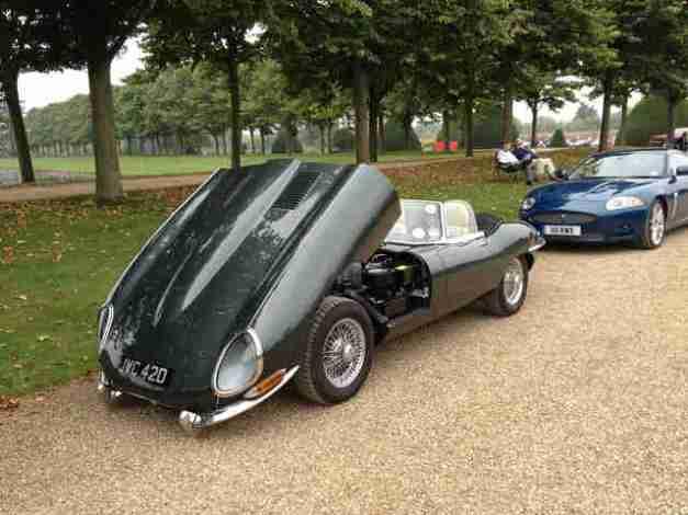 British Racing Green Jaguar E-Type