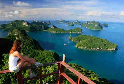 Wua Talab island, Ang Thong National Marine Park, Thailand