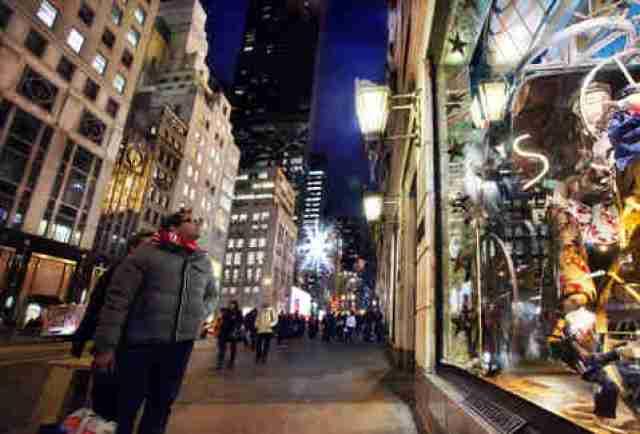 NYC Christmas Window