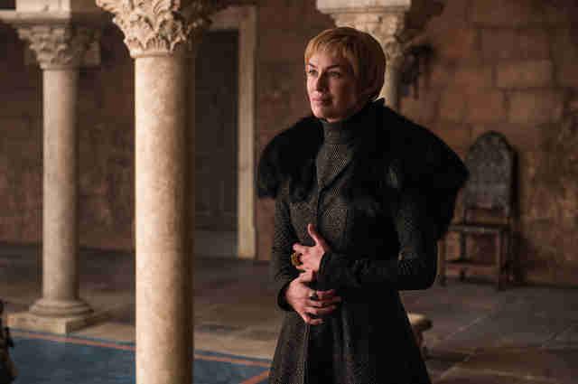 cersei pregnant season 7 game of thrones