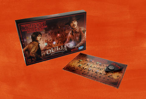 Stranger Things Game Ouija Board Monopoly And Eggo Card
