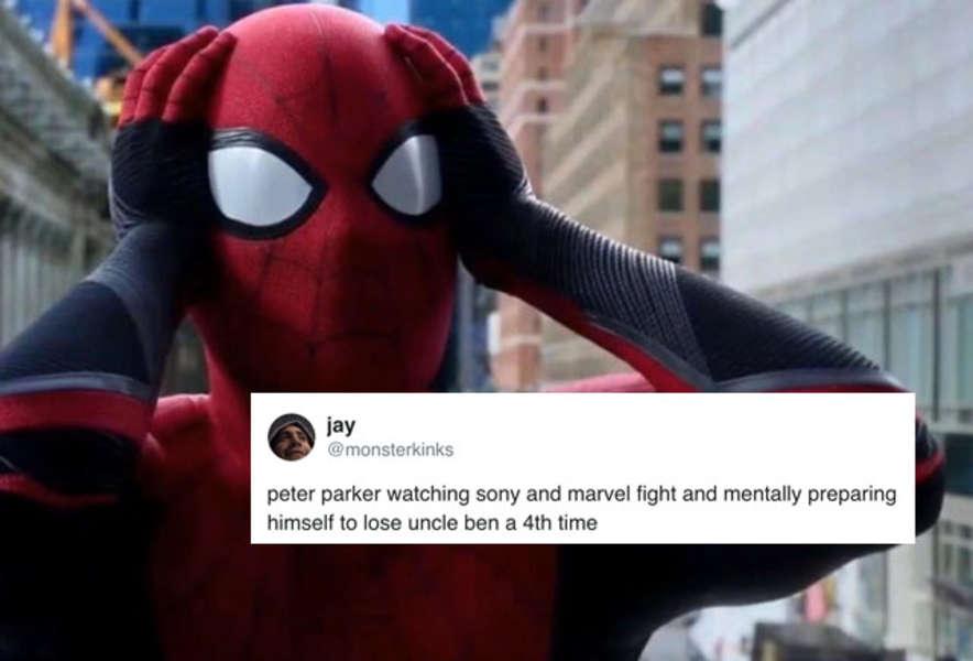 Spider Man Meme Fans React To Spider Man Leaving The Mcu Thrillist