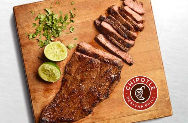 Chipotle Is Launching All-New, Hand-Sliced Carne Asada for Your Burritos