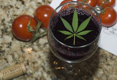 Image result for weed wine
