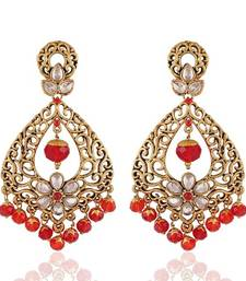 Buy Resplendent Gold Plated Jewellery Earrings For Women danglers-drop online