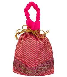 Buy Stylish Pink Hand Pouch handbag online