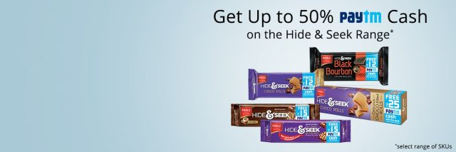 Get Up To 50% Paytm Cash On Hide And Seek Range