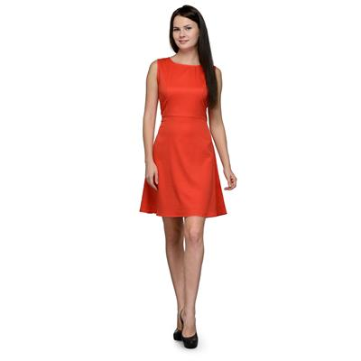 United Colors of Benetton Red POLYESTER Ladies Dress
