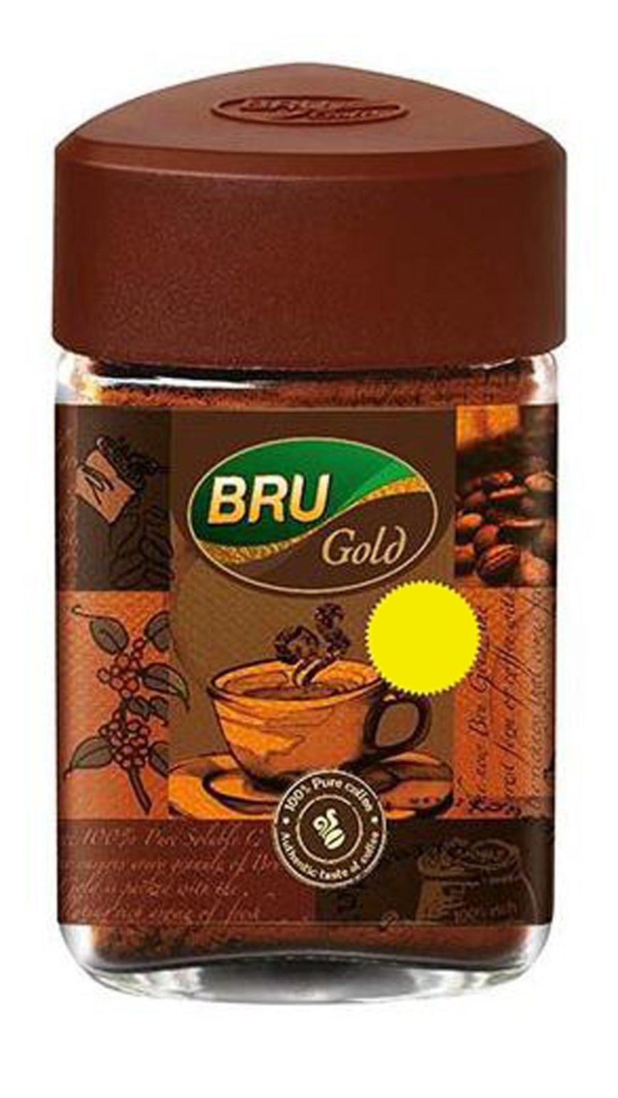 Bru Instant Coffee Gold 50 Gm