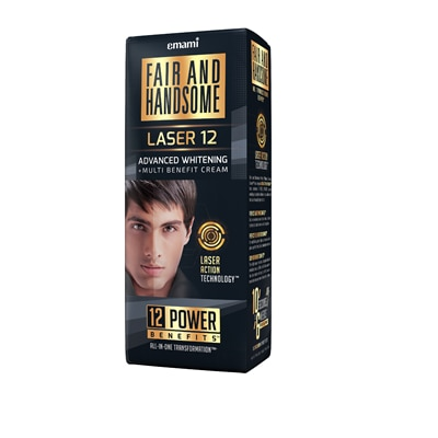 Fair And Handsome LASER 12 Advanced Whitening Multi-Benefit Cream 30 gm