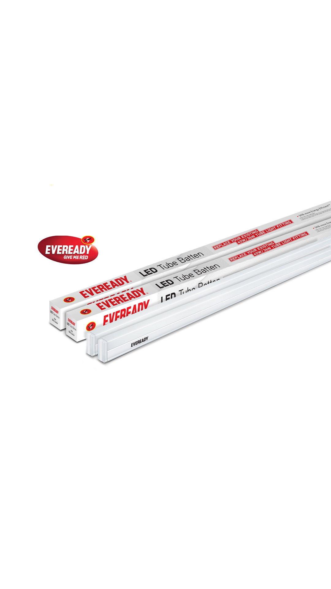 Buy Eveready 18w 4 Feet Led Tube Light Pack Of 2 Online At Low Prices In India
