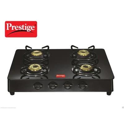 Prestige 4B Marvel 4 Burner Gas Stove (Manual Ignition)