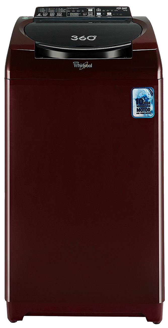 Whirlpool 7 Kg Fully-Automatic Top Loading Washing Machine (360 Degree Bloomwash Ultra 7.0 Pearl Wine)