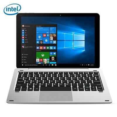 CHUWI Hi10 Pro 2 in 1 Ultrabook Tablet PC 10.1 inch Windows 10 + Android 5.1 IPS Screen Intel Cherry Trail Z8350 64bit Quad Core 1.44GHz 4GB RAM 64GB ROM Dual Cameras Stylus Function with Keyboard