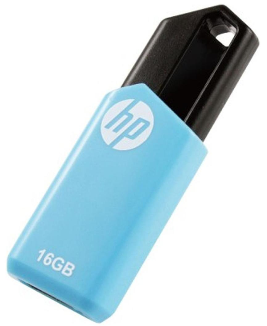 HP V150W USB 2.0 16 GB Utility Pen Drive (Blue)