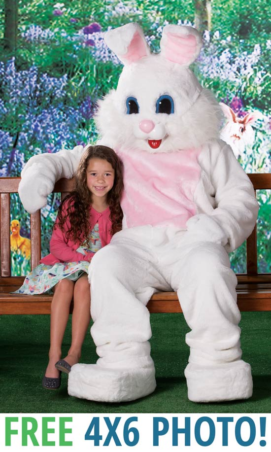 Your picture with the Easter Bunny