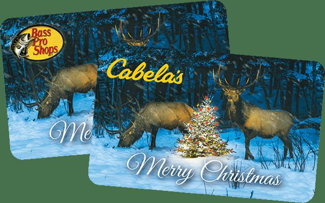 bass pro shops cabelas gift cards