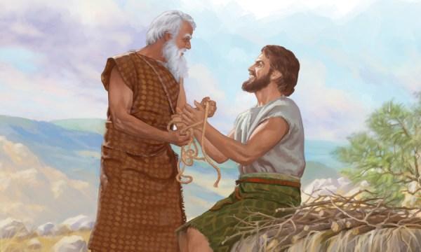 abraham and isaac # 15