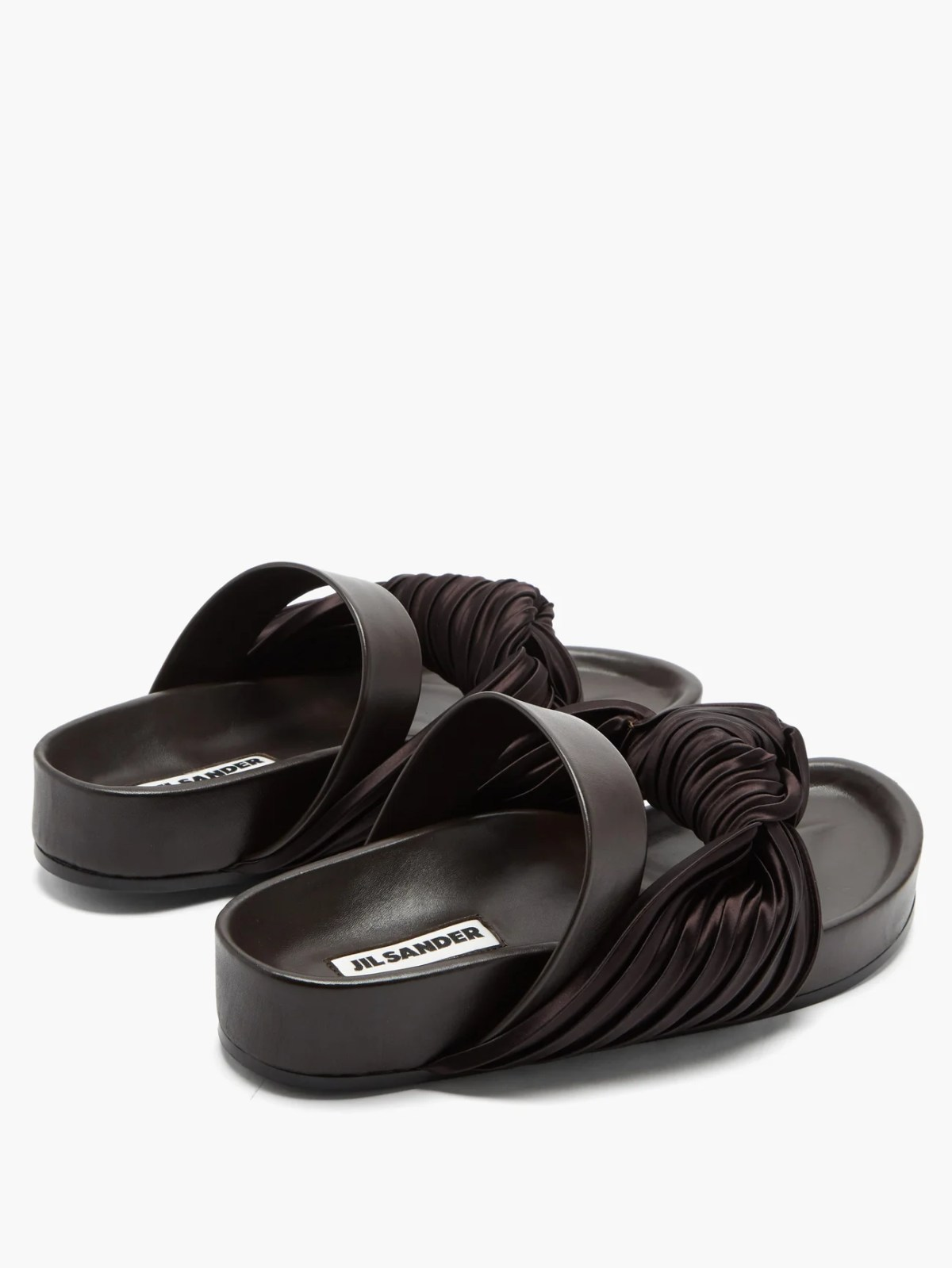 Slip on shoes to show the reader