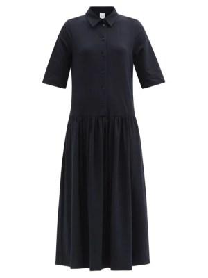 Max Mara Leisure - Ceci Dress - Womens - Dark Navy