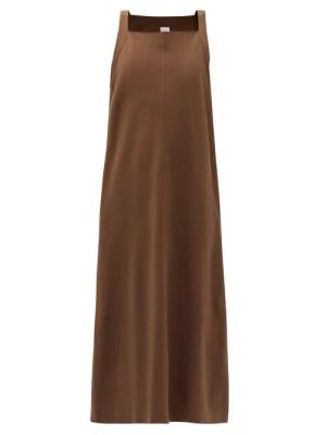 Max Mara Leisure - Aminta Dress - Womens - Brown