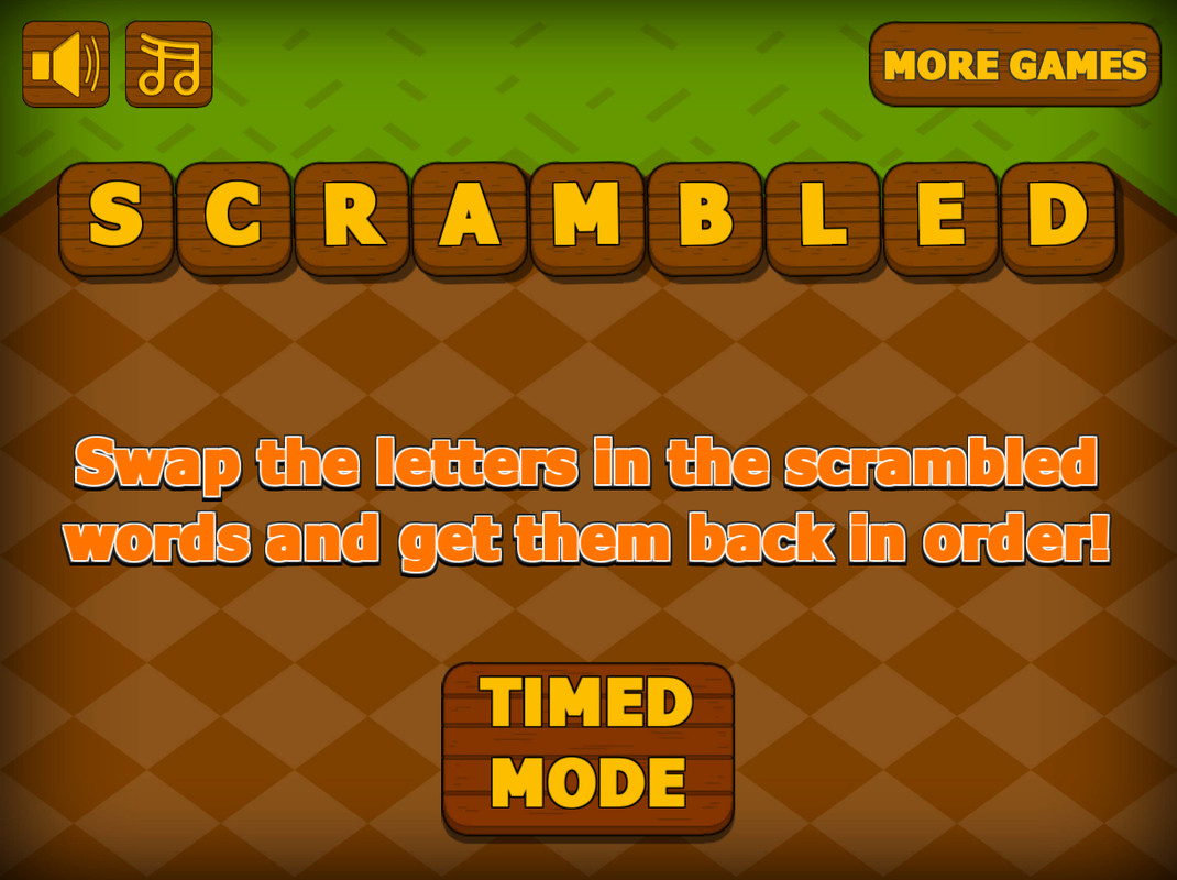 Scrambled Letters Game