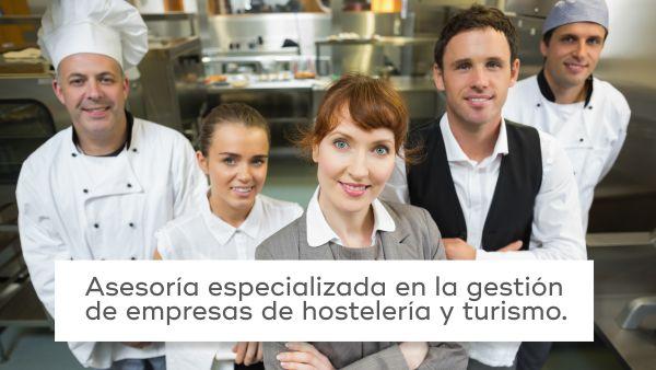 ¿Tiene usted una empresa de hostelería y turismo?