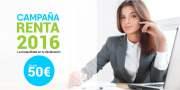 Campaña Renta 2016 - La tranquilidad en tu declaración