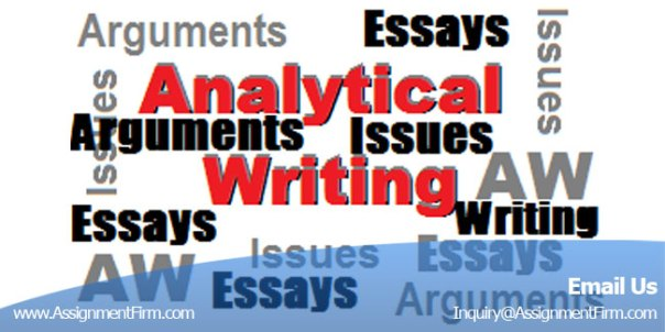 Analytical Writing Help