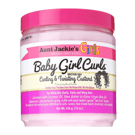 Aunt Jackie's Girls Baby Girl Curls Curling & Twisting Custard 426gr