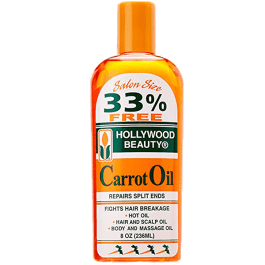 Hollywood Beauty Carrot Oil 236ml