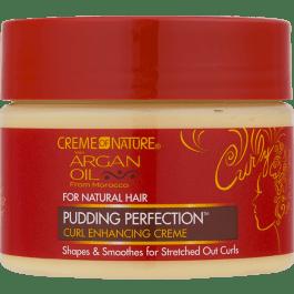 Creme Of Nature Argan Oil Pudding Perfection Curl Cream 326g