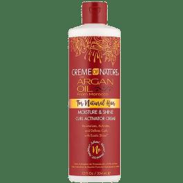 Creme of Nature Argan Oil Moisture & Shine Curl Activator Creme 354ml