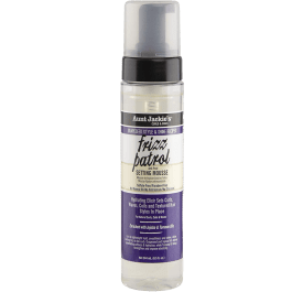 Aunt Jackie's Grapeseed Style & Shine Recipe Frizz Patrol Anti Poof Twist and Curl Setting Mousse 244ml