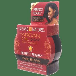 Creme of Nature Argan Oil Perfect Edges Dark Brown 64gr