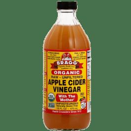 Bragg Organic Raw Apple Cider Vinegar (Vinagre de Maçã Orgânico) 473ml