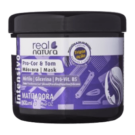 Real Natura Pro-Cor & Tom Máscara Matizadora 500ml