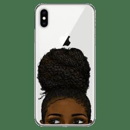 Capa Afro Puff para iPhone (vários Modelos iPhone)
